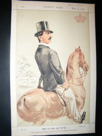 Vanity Fair Print 1870 Prince Teck, Royal